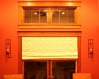 Custom craftsman red oak window casing
