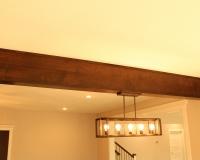 Custom maple beam