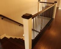 Custom maple staircase
