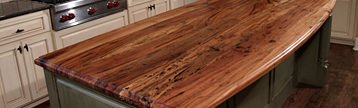 Butcher Block & Slab Countertops